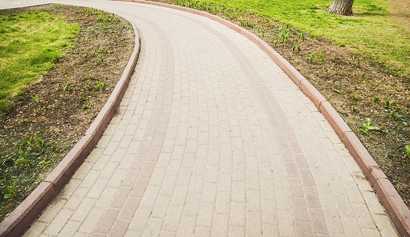 территория бетона