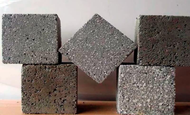 бесцементного бетона